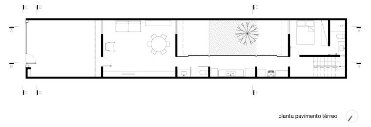 Construir una casa econ mica y bien dise ada - Distribucion casa alargada ...