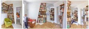 estantes libros