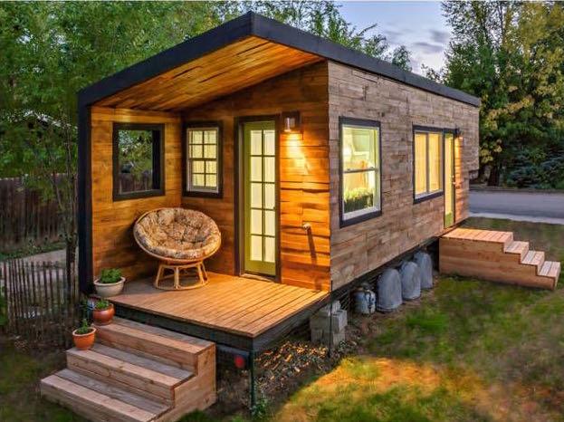 17 incre bles casas peque as que te inspirar n a vivir con for Casas con planos y fotos