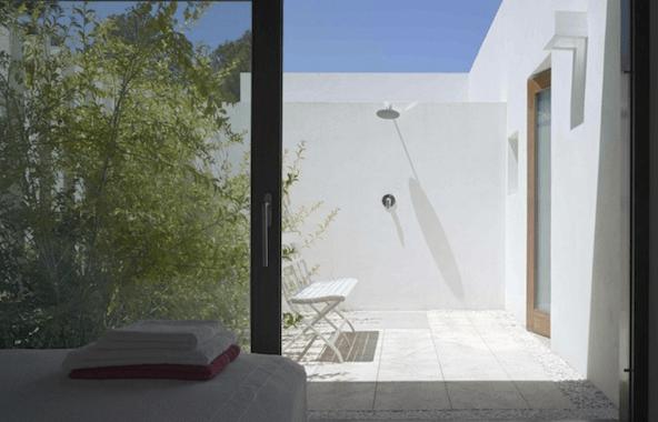 Casa con Patio Interior