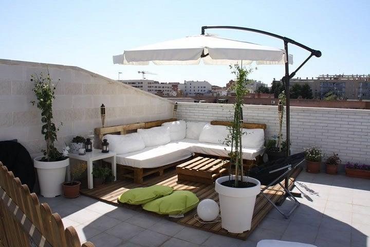 construir una terraza