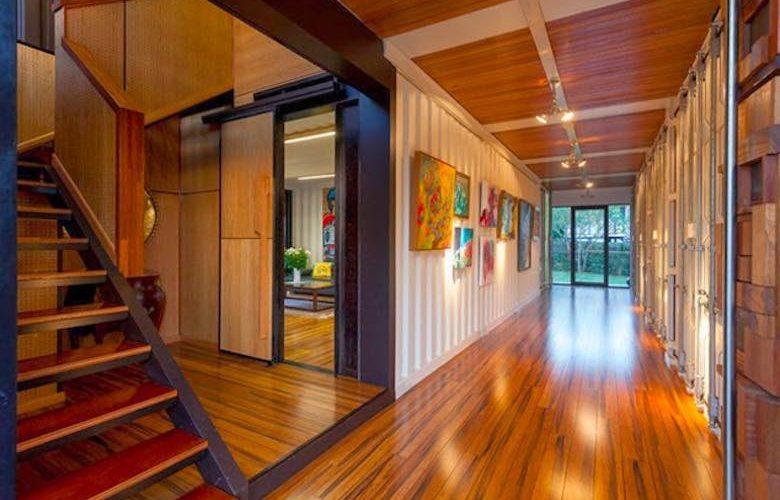 La flexibilidad de dise ar y construir una casa con 1 2 - Casa hecha con contenedores ...