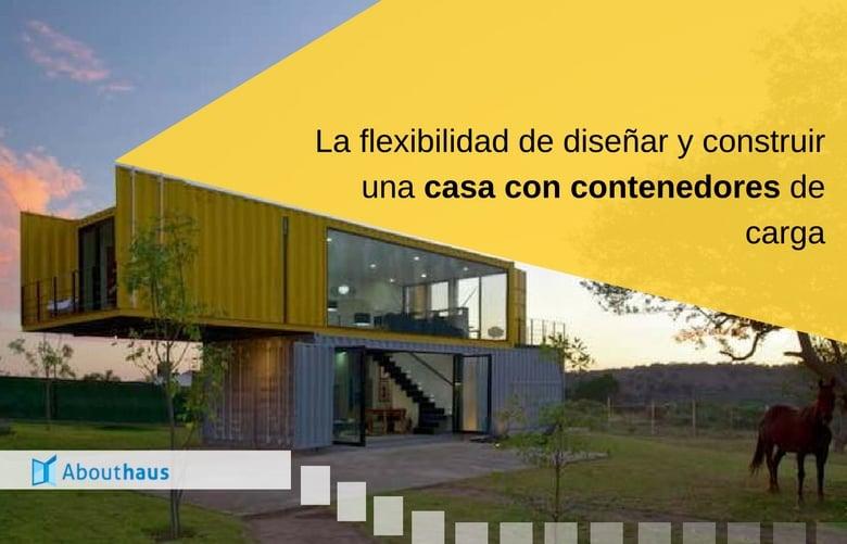 La flexibilidad de dise ar y construir una casa con 1 2 for Disenos para construir una casa
