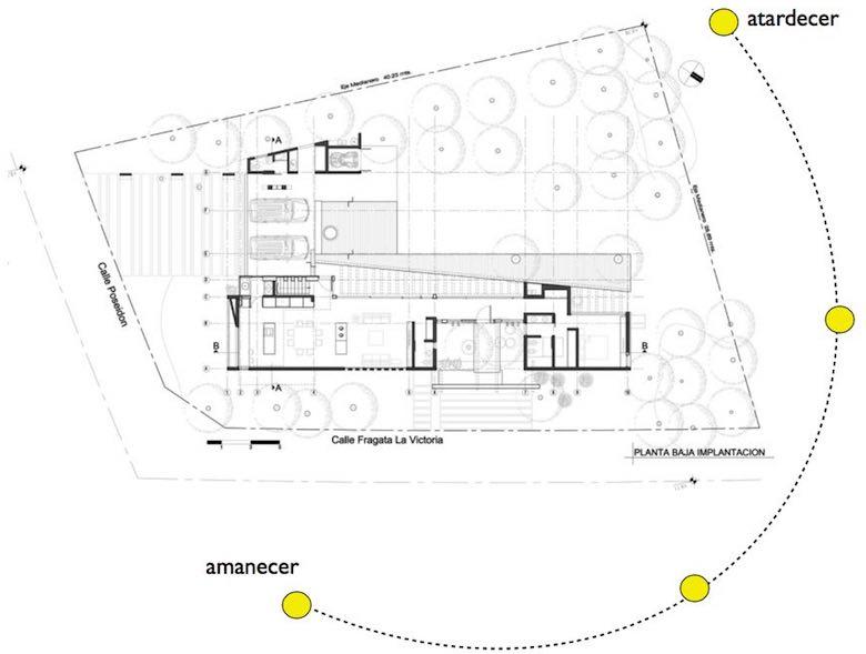 Como Construir Una Casa En Esquina Aprovechando Las 2 Fachadas - Planos-de-casas-en-l