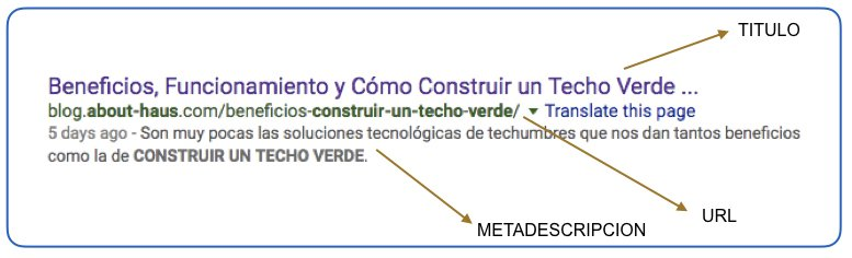 URL METDESCRIPCION