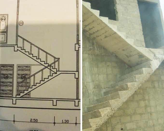 errores de construcción