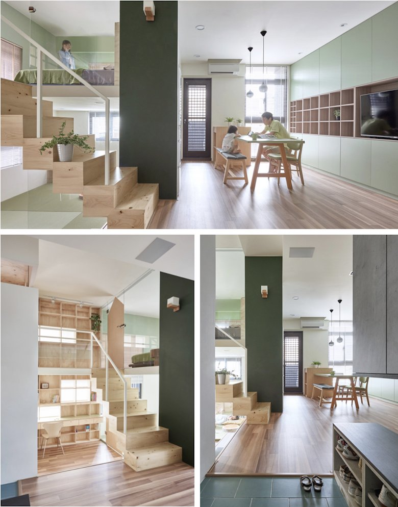 casas de dos pisos