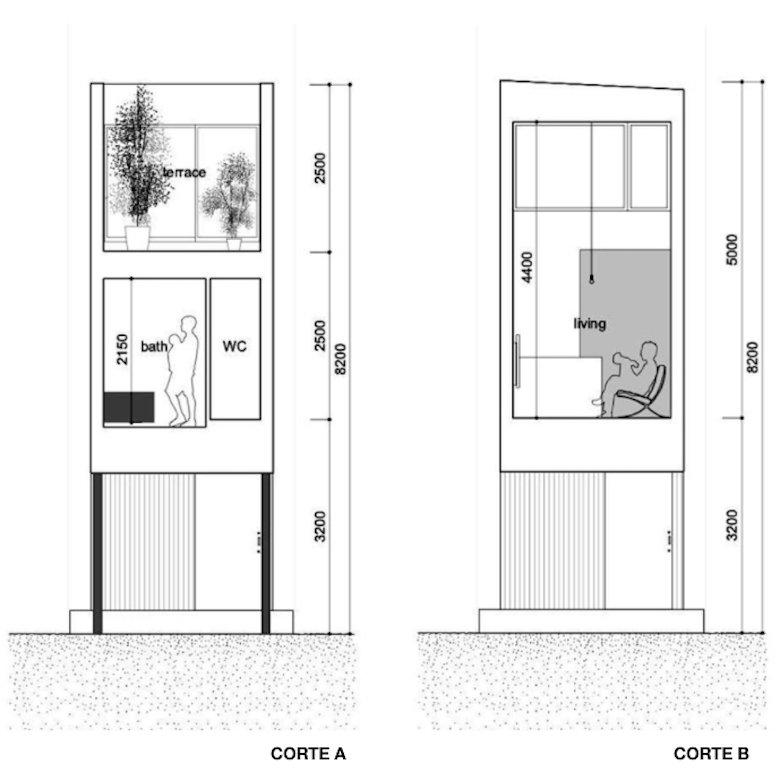 Como Dise Ar Una Casa Estrecha De Solo 3 Metros De Ancho