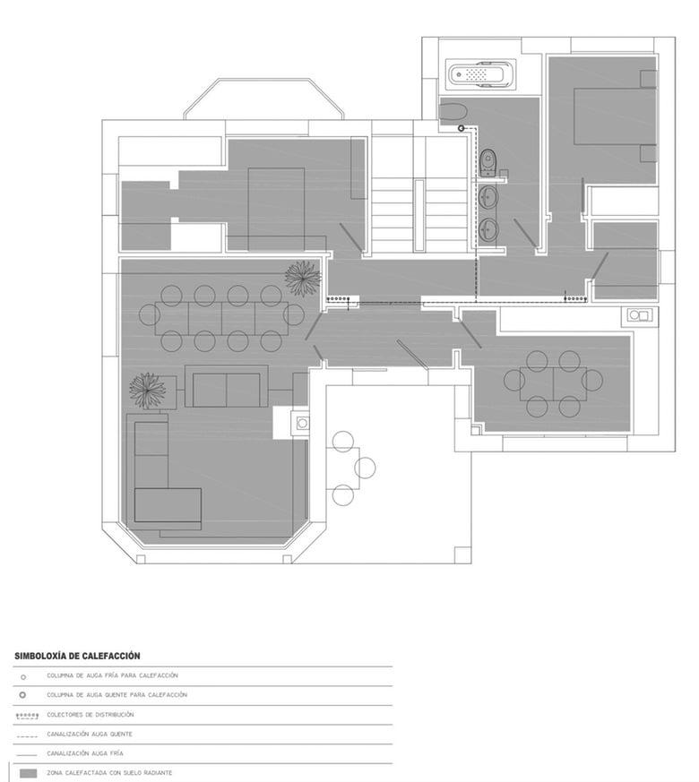 Planos t cnicos de una casa diferentes tipos ejemplos y - Tipos de calefaccion para casas ...