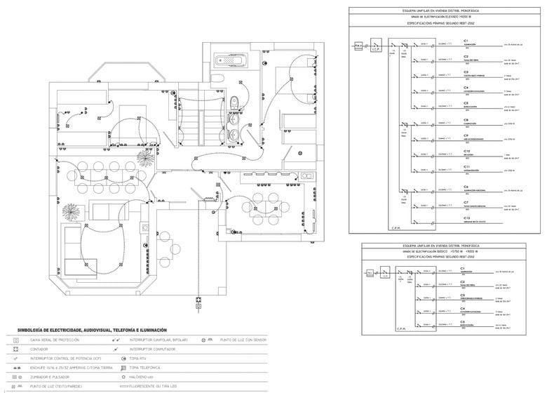 Plano de sistema electrico