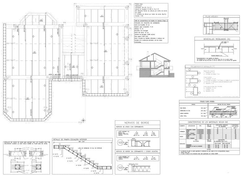 Planos t cnicos de una casa diferentes tipos ejemplos y for Detalles de una casa