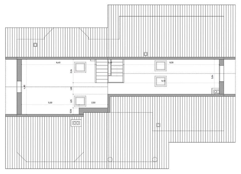 Planos t cnicos de una casa diferentes tipos ejemplos y for Ventanas para techos planos argentina