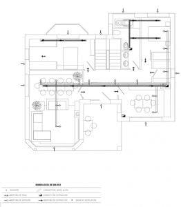 Plano sistema de ventilacion
