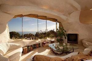 casa en en una cueva