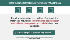 Curso materiales naturales