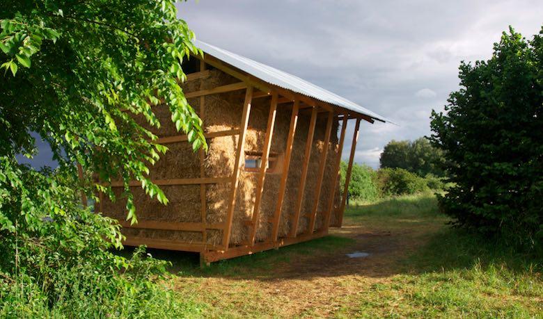 Casa ecologica de bals de paja