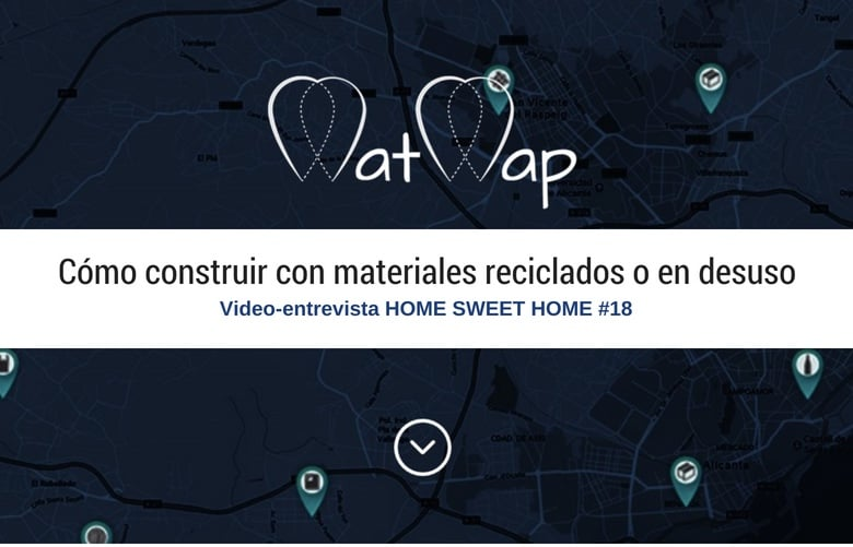 Construir con materiales reciclados