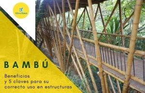 Estructuras de bambu