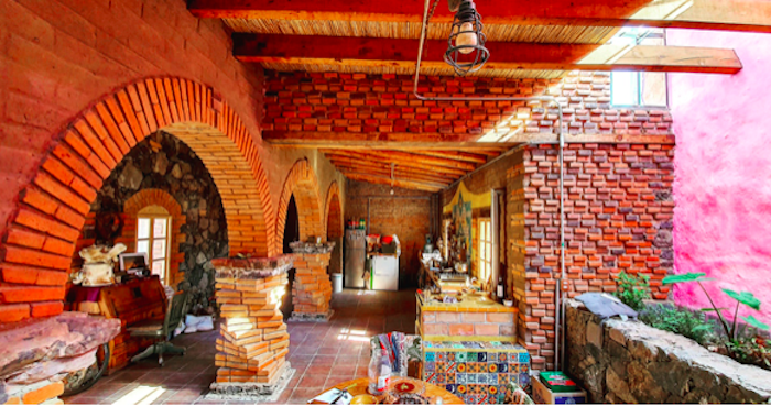 Patio Interior Casa Huichapan 1