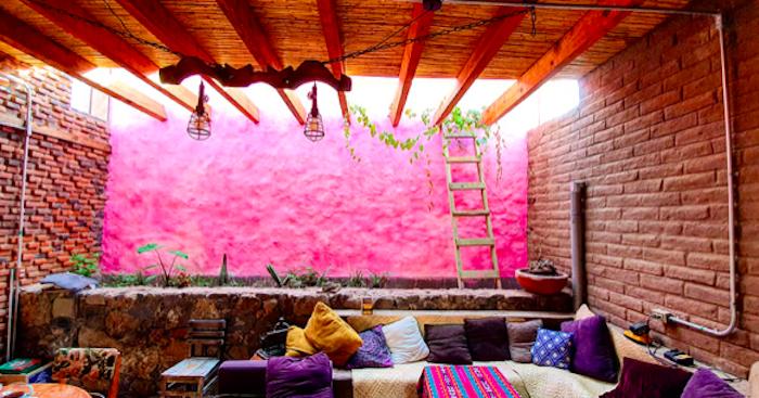 Patio Interior Casa Huichapan 2